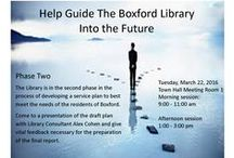 Happenings at the Boxford Library / Events and happenings at the Boxford Library!  Registration is encouraged for events, but we'd love to have you visit one way or another!