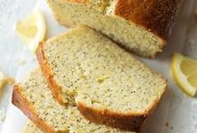 Loaf Cakes & Bread / A collection of loaf cakes and bread.