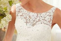 Bridal Dress Inspiration / Take a look at these exquisite wedding dresses and get inspired.