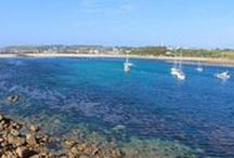 Travel: Isles of Scilly / Ideas and inspiration for things to do and places to go on a trip to the Isles of Scilly, off the coast of Cornwall in South West England.