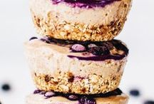 Healthy Desserts & Snacks / A collection of healthy desserts and snacks.