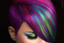 HOT Hair Color / Oh how we love color. Trendy, classic, punk... we love it all!
