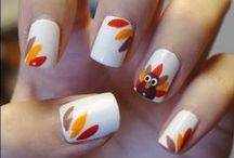 A Beautiful Thanksgiving / Makeup & nails with a Thanksgiving theme!