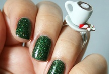 Christmas / Winter Beauty / Christmas & Winter time themed nails & makeup!