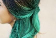 OMBRE! / Ombre! It's all about the Mighty Ombre. Find your style with hot ideas in hair, makeup and nail designs!