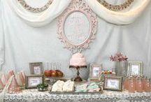 Cake/Desert-Table - Inspiration / Christenings-babyshowers-birthdays-weddings