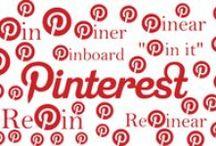 PINTEREST / Recopilatorio de recursos y aplicaciones en distintos sectores sobre Pinterest
