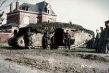 Char et Tank WW1 / Photos de Chars et de Tank colorisés durant la première guerre mondial.