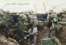 Soldat Allemand WW1 / Photos colorisés de soldats allemands durant la première guerre mondial.