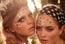 FESTIVAL / Festival Fashion,Beauty & Hair.   Everything for festivals. Like clothing,outfits,shoes, accessoires, hippie/ibiza style. Festival face paintings, make-up, bodypainting. Festival hair ideas, braids, flowers etc.