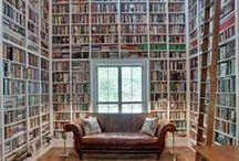 Fantastiske hus og rom fulle av bøker