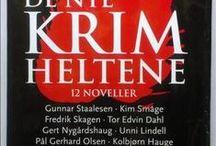 Kriminalromaner / Krim, thriller og spenningsbøker til å koble av med :-)