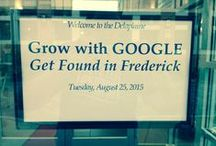 Grow with Google - Get Found in Frederick! / Grow with Google Event held in Frederick, Maryland on Tuesday, August 25th, 2015.