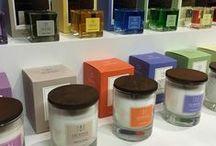 Privat velvære / Private wellness, duftlys, duftpinner, accessories, candles, towels, håndklær