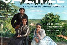 Peintre Frédéric bazille / La jeunesse impressionniste - mort à seulement 29 ans , durant la guerre franco Prusse de 1870