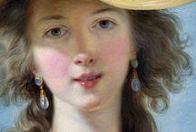 Peintre Elisabeth Vigee Lebrun / La portraitiste du 18ème siècle
