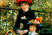 Peintre Pierre Auguste  Renoir / Peintre impressionniste