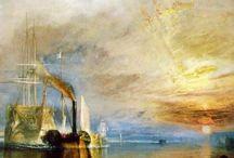 Peintre William  Turner / Peintre  la maîtrise de la lumière