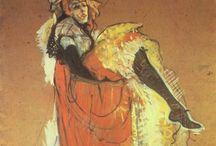 peintre Henri  de Toulouse Lautrec