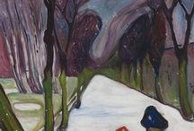 peintre Edvard Munch