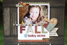 Scrapbook page ideas / by Cathy Thompson Sauer