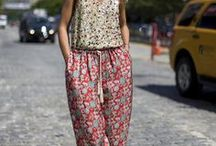 Printed Pants! / This summer is all about the printed pants trend.