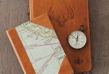 | Leather Journals | / Unique handmade leather journals with wonderful finishes and paper which begs to be written upon.  From rustic leather to Italian leather - these are some of the leather journals and sketchbooks we love!