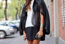 Black & White / Black and white fashion inspiration.