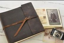 | Leather Photo Book | / rustic leather photo books and ideas