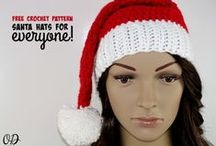 CROCHET - FREE Christmas Crochet Patterns / Free Crochet Patterns you can use for Christmas. Holiday Crochet. / by Oombawka Design