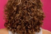 Curly Hair / tips, ideas and styles for curly hair