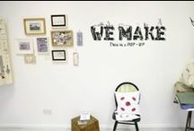 WE MAKE Belfast Pop Up Shop / WE MAKE Pop-Up Shop  QSS GALLERY 27 February - 9 March, 2014