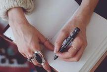 | Journaling Inspiration | / Ideas for Creative Journal Keeping