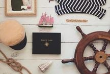 | Nautical | / We're loving all things nautical from fancy knots to the sound of creaking wood on the rolling sea- here's our pick of nautical decor, inspirational images, and more!