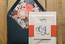 ● invitation inspiration ● / Some wedding invitation inspiration! #designhappy