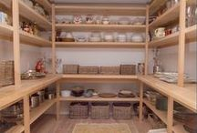 Pantries / Ideas for building or organizing a pantry