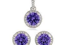 Amethyst Wedding / Custom Jewelry for your bridal party.. in Amethyst