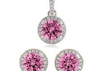 Pink Tourmaline Wedding / Custom Jewelry for your bridal party.. in Pink Tourmaline