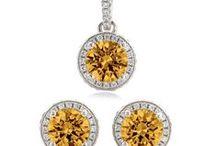 Yellow Topaz Wedding / Custom Jewelry for your bridal party.. in Yellow Topaz