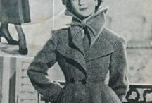 great vintage coats / beautiful coats from the 1940's and 1950's.