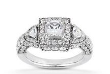 Diamond Castle Engagement Rings - Antique Collection / The beauty of art and elegance
