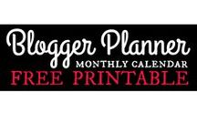 #1 Blog Planners and Printables / Blog Planners and Printables