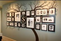 Family Tree / Ideas for creating a family tree wall mural