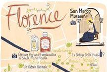 Florence, Italie / A la découverte de Florence et de la richesse de son patrimoine artistique... Discovering Florence and its rich artistic heritage...