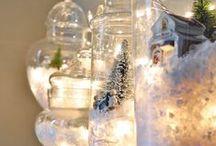 I LOVE Christmas / Christmas decoration