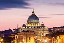 Rome, Italie / Les mille et une merveilles de la cité éternelle... The wonders that the Eternal City has to offer...