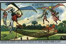 Victorian future visions / Trade cards depicting what artist imagined life in the year 2000 would look like