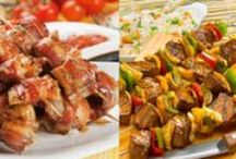 Carne cozida,assada,grelhada,churrasco