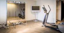 Fitness Ruimte Thuis | Hoog.design / Gezonde voeding en beweging is belangrijk voor een goede gezondheid. Fitness is een bekende oplossing om in beweging te komen. U kunt deze oefeningen namelijk zelfstandig uitvoeren en het is een uitstekende vorm van ontspanning. Het gemak van een fitnessruimte in huis is dat u op ieder moment kunt gaan sporten zonder daar de deur voor uit te gaan. Fitness thuis geeft u de mogelijkheid om te ontspannen na een lange dag, wanneer u daar zin in heeft.