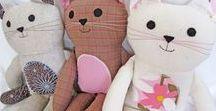 Kids - Sewing Crafts / DIY napkins, handmade mobile, sewing patterns, baby mobile pattern, pillow pal, pillow pattern, pillow bed, sewing tutorial, crafts, sewing projects, sewing crafts, sewing craft ideas, sewing project ideas, sewing pattern ideas, DIY pillow, DIY crafts